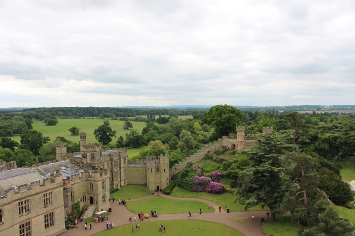 Gorgeous views at Warwick Castle